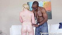 Miley May Fucks Gigantic Penis Black Man