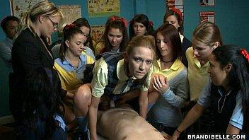 Schoolgirl Suck Off - Brandi Belle 5 min