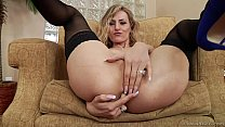 Wild anal ride on fat dick - Natasha Starr