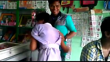 Hug & Kissing moment are two boy & girl