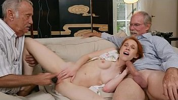 Dirty Redhead Teen Dolly Little Sucking Off Two Old Men