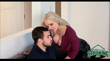 Horny MILF Nina Ella Seduces Her Step Son