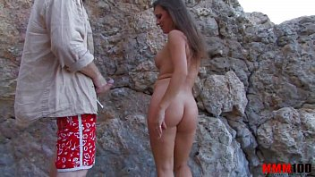 Hot milf brutally fucked at the beach with lot of squirt and anal