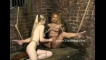 Blonde babe  spanked