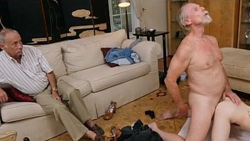 Red Hair Teen Dolly Little Doggystyle And Facial From Old Man
