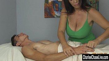 Charlee Chase Big Tit Happy Ending Massage 8 min
