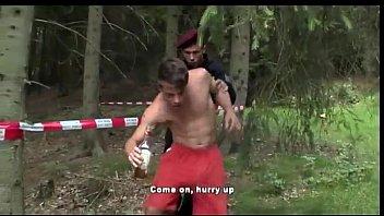 hot outdoor threesome - hotcamporn.com