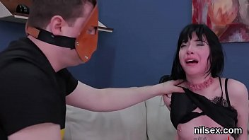 Horny nympho is brought in ass hole nuthouse for awkward therapy