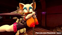 Rouge The Pole Dance