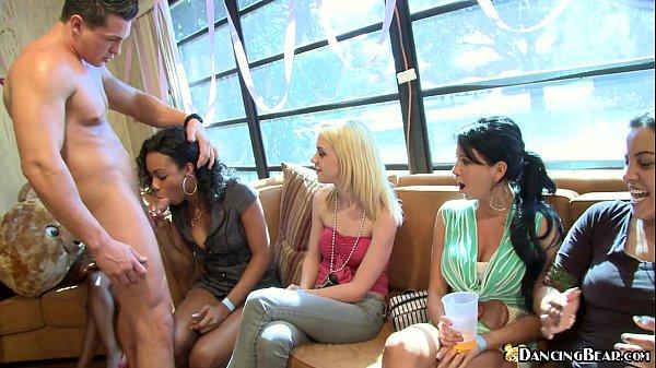 Cock Sucking Sluts at Bachelorette Party