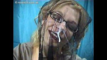 Nicole24 nylon face cum