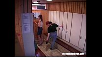 Sauna Group Fuck With Two Horny Matures 39 min