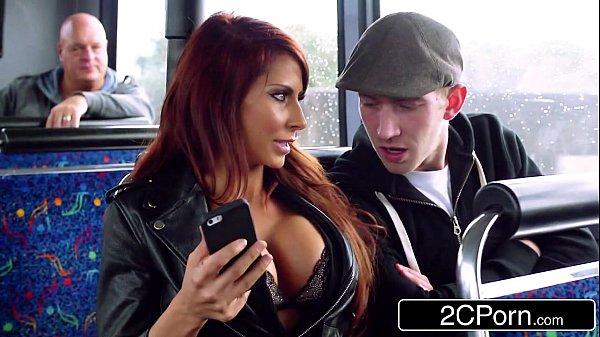 Steamy FFM Threesome on a Tour Bus in London - Jasmine Jae, Madison Ivy