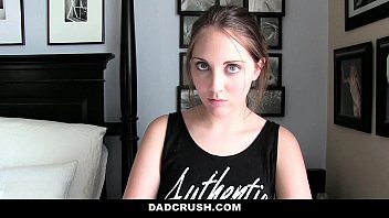 Dad Crush- Caught and Punished StepDaughter (Nickey Huntsman) For Sneaking