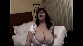 BBW Tobi with huge tits gets buttfucked by black cock and swallows his load