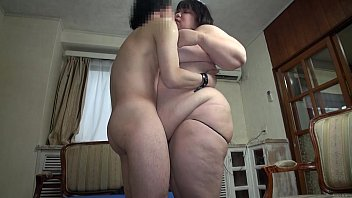 Subtitled Japanese extreme BBW fat body worship in HD 5 min