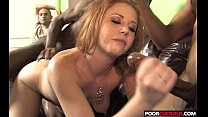 Two BBCs For HotWife Cherry Poppens While Cuckold Watching