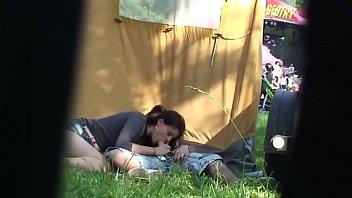 Outdoor festival amateur couple have sex secret cam | amateurcamm.com