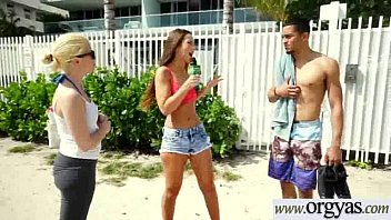 (Molly Mae & Layla London) Gorgeous Girl For Lots Of Cash Strip And Bang On Cam movie-20