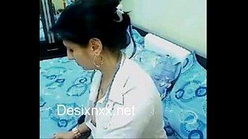 Desi Bhabhi Home Alone Chatting Hot sex
