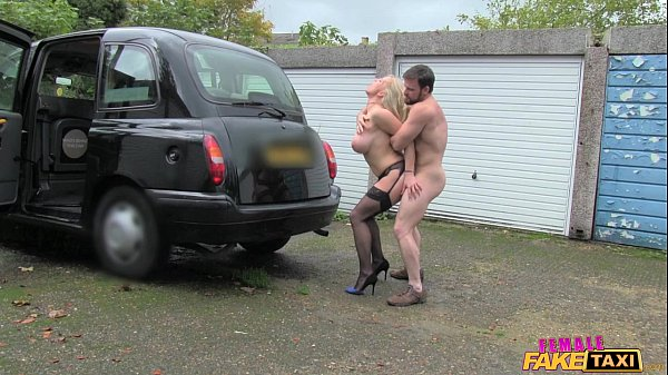 Female Fake Taxi Marine gives driver a good fuck