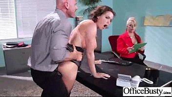 Intercose On Cam With Sexy Busty Slut Office Girl (krissy lynn) mov-21