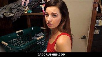 Dad Cums Inside Tiny Step Daughter