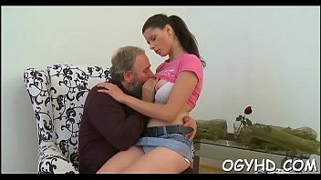 Grandpapa craves for young hole