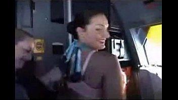Stewardess flashing