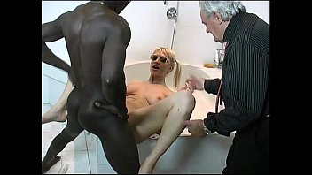 50 shades of hard black cock