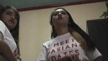 Asian-Webcam-Models in hotel Filipina hookers get naked huge tits