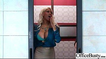 Office Girl (Bridgette B) With Big Round Melon Tits Like Sex mov-11