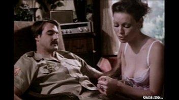 Classic pornstar legend Annette Haven giving a blowjob 6 min