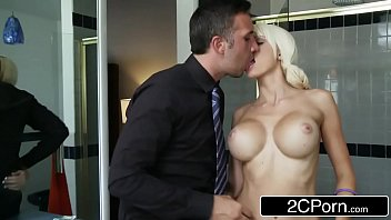 Young Blonde Bimbo Rikki Sixx Getting Paid in Cock