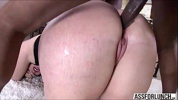 Massive ass Virgo bounces on a big black cock hunk guy
