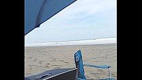 cogiendo a mi esposa en micro tanga en media playa al aire libre part 3