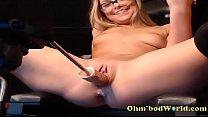 www.girls4cock.com *** Sex Addict Teen Gets Fucked by Sex Machine