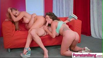 Hard Long Cock To Ride Is Need By Pornstar Girl (Nicole Aniston & Peta Jensen) video-23