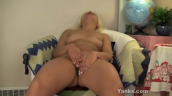 Blonde Girl From Yanks Barbie Masturbates