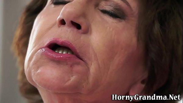 Granny interracial fucked
