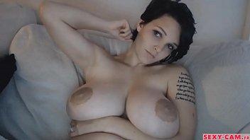 Gorgeous boobs girl webcam show - sexy-cam.fr 12 min