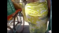 Big fat yellow saree gaand 30 sec