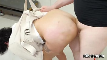 Sexy kitten was taken in butt hole assylum for painful therapy
