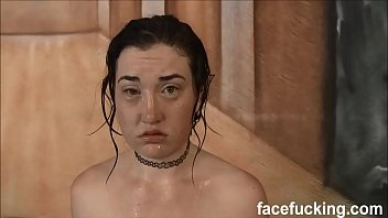 (new) Horny slut Kat Monroe throat pounded and fucked hard