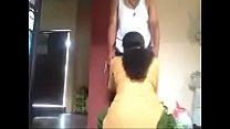 Maid giving blowjob
