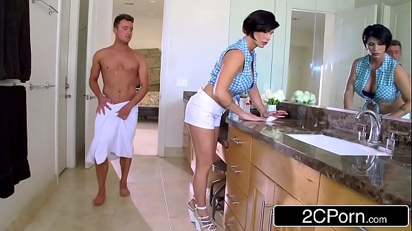Mature Stepmom Shay Fox Helps Her Stepson To Get Sexual Relief