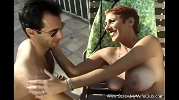 Hubby Lets BBC Fuck His Redhead Wife