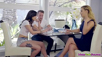 Cherie Deville seduces her teenager dauhter Gia Paige