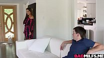 Hot 3some sex lessons with sexy Milf Reena Sky