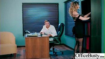 (Alexis Adams) Big Tits Sluty Girl In Hardcore Sex In Office clip-01